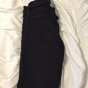 Black jeans from American Eagle